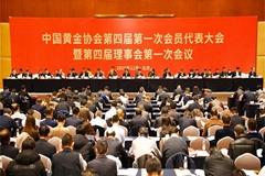 盧進當選中國黃金協會(hui)會(hui)長